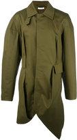 J.W.Anderson asymmetric hem trench coat
