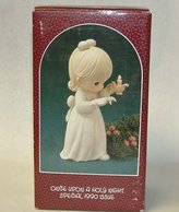 """Precious Moments Once Upon A Holy Night"""" Special 1990 Issue Figurine"""