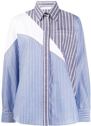 Cédric Charlier Striped Long-Sleeve Shirt