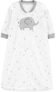 Carter's Baby Boys or Girls Elephant Fleece Sleep Bag