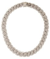 Piaget 18K Woven Chain Necklace