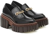 Thumbnail for your product : Stella McCartney Emilie faux leather loafers