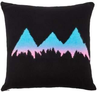 The Elder Statesman Mountain Cashmere Pillow - Womens - Black Multi