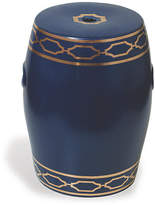 Port 68 Pavol Garden Stool - Indigo/Gold