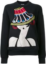 Holly Fulton Delores sweatshirt - women - Cotton - M