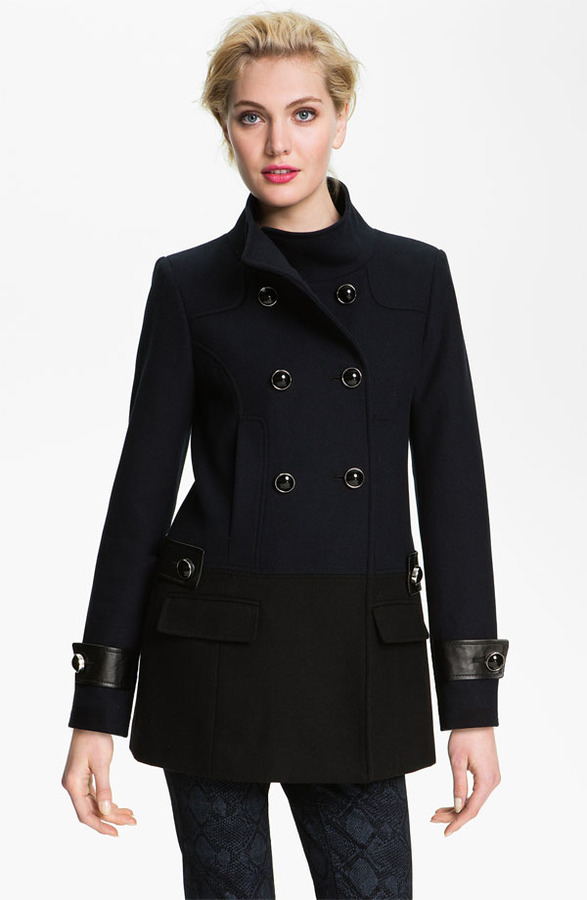 Vince Camuto Colorblock Peacoat