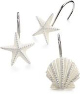 Avanti Bath, Sequin Shells Accessories Collection