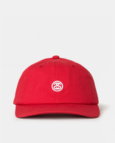Stussy Contrast Strap Cap (Red)