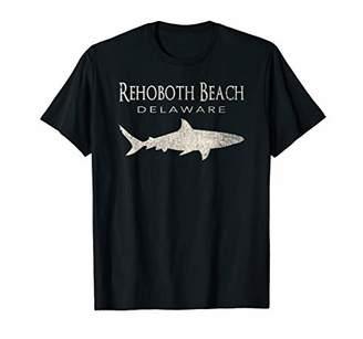 Retro Rehoboth Beach DE Shark T-Shirt