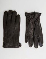 Jack and Jones Gloves in Leather
