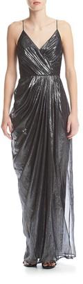 Vera Wang Women's Chiffon Gown