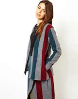 Asos Jacket in Stripe - Multi