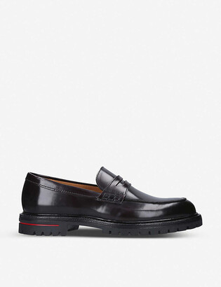 Kurt Geiger Wimbledon leather loafers