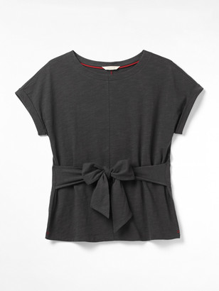 White Stuff Belted Jersey Tee