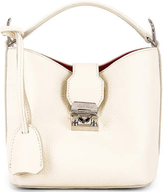 Mark Cross Murphy Mini Bucket Bag in Winter White | FWRD