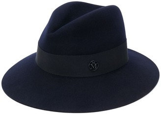 Maison Michel Kate logo fedora hat