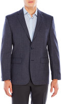 Vince Camuto Blue Check Wool Sport Coat