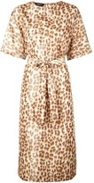Rochas leopard print dress