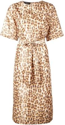 Rochas Leopard Print Dress