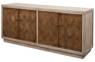 Sarreid Ltd. Argyle 71'' Wide Pine Wood Sideboard Color: Gray