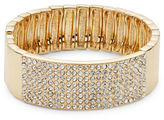 RJ Graziano Pave Bangle Bracelet