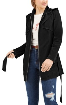 Joujou Jou Jou Juniors' Hooded Trench Coat
