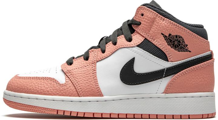 Air 1 MID GS 'Pink Quartz' Shoes - Size 3.5Y