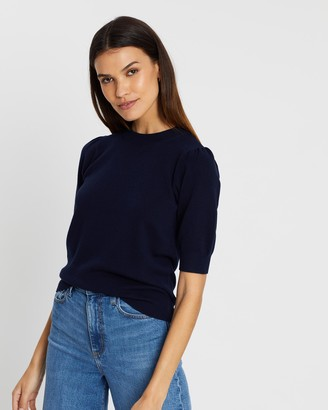 Whistles Puff Short Sleeve Knit