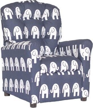 Viv + Rae Arlene Kids Cotton Chair Color: Blue