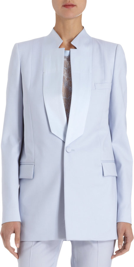 Givenchy Button Front Blazer
