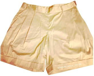 Jil Sander Beige Cloth Shorts for Women