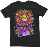 Simba Licensed Character Men's Disney Lion King Ornate Color Pop Jungle Portrait Tee