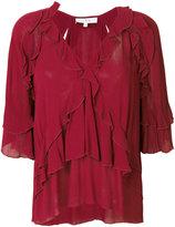 IRO Abby ruffle blouse - women - Viscose - 38