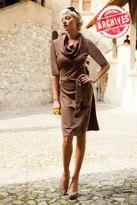 Shabby Apple Bampton Dress Brown