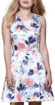 Yumi Floral Sleeveless Occasion Dress, Multi