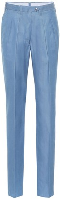 Giuliva Heritage Collection The Husband straight cotton pants