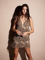 Free People Low Lights Fringe Dress
