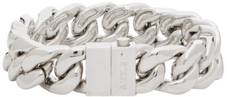 Ambush Silver Classic Chain 7 Bracelet