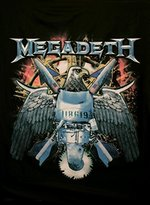 Old Glory Megadeth Fabric Poster 30 x 40in