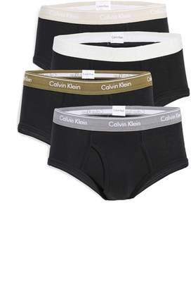 Calvin Klein Underwear Cotton Classics 4 Pack Briefs