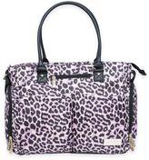 Jessica Simpson City Tote Diaper Bag in Leopard