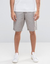 Celio Chino Short with Dots Jaquard Detail