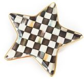 Mackenzie Childs MacKenzie-Childs Handcrafted Courtly Check Star Plate