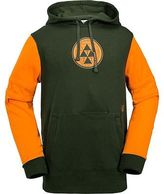 Volcom Faded Fleece Pullover Hoodie - Men's Vintage Green S