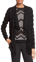 M Missoni Women's Cascade Front Wool Blend Cardigan