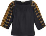 Vanessa Bruno Dalma embroidered cotton top