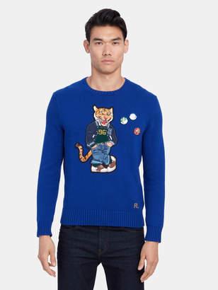 Polo Ralph Lauren Long Sleeve Tiger Sweater