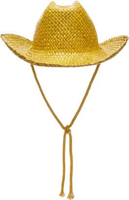 REINHARD PLANK Con Straw Hat
