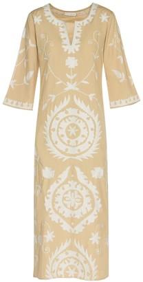 Ada Kamara Long Suzanni Beige Dress