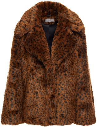Joie Kisha Leopard-print Faux Fur Coat